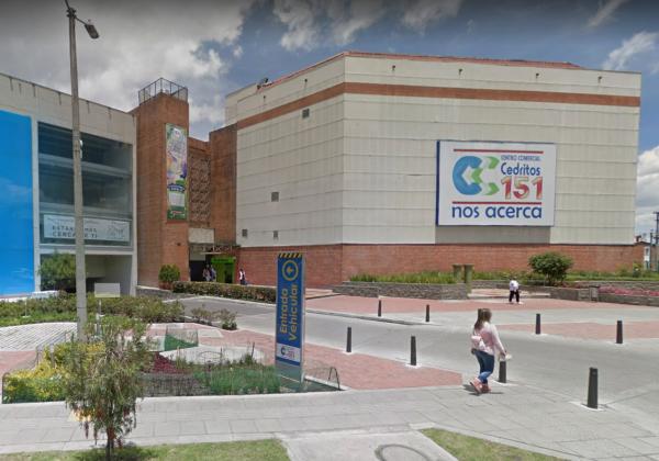 Centro comercial Cedritos 151 Actual